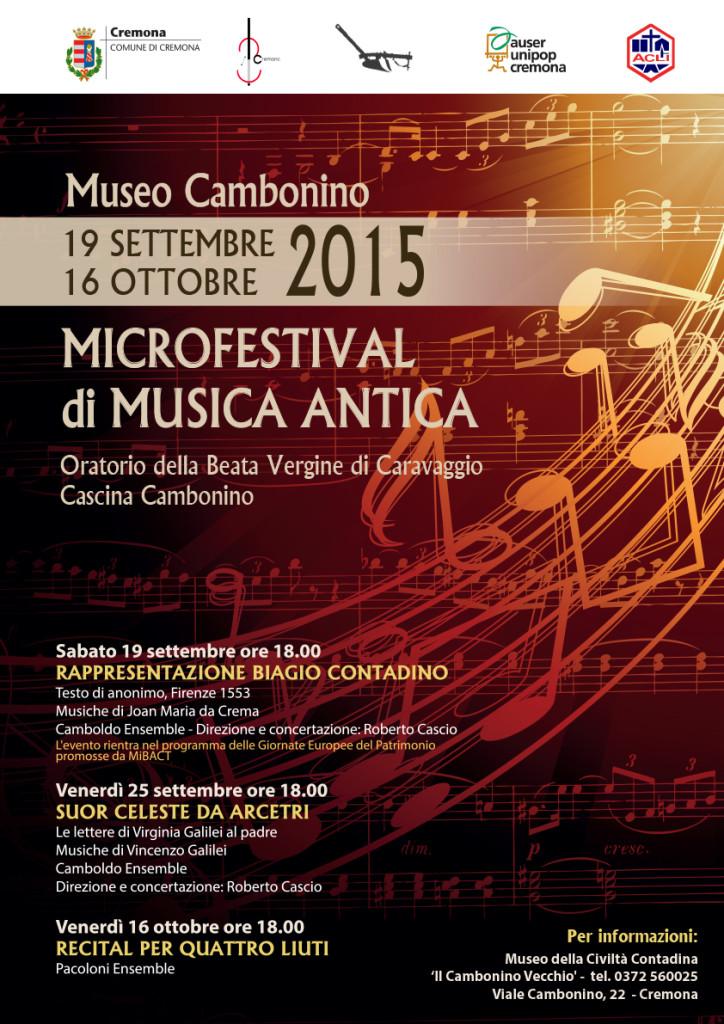 Microfestival prima Edizione 2015